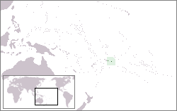 Amerkanisch Samoa Lage