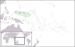 Mikronesien Lage