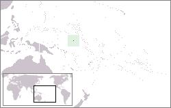 Nauru Lage