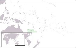 Neukaledonien Lage