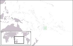 Niue Lage