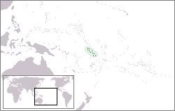 Tuvalu Lage