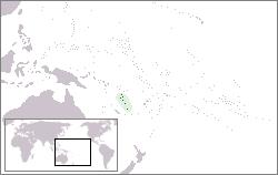 Vanuatu Lage